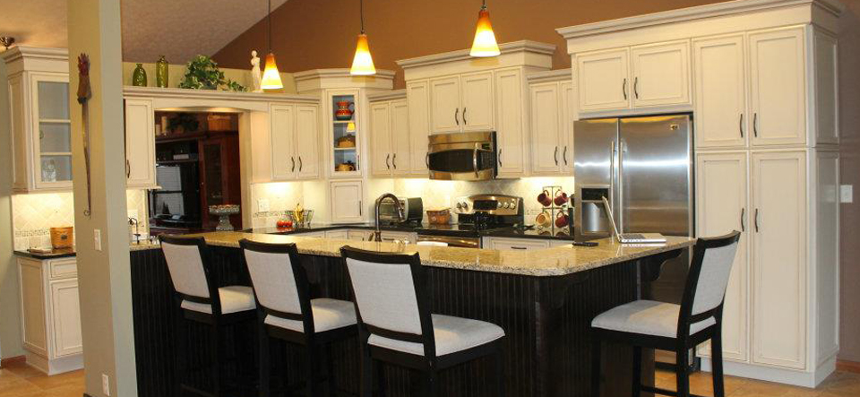 Mauk cabinetry makes any room a favorite gathering place